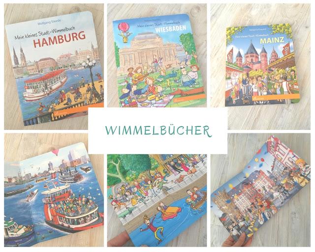 Nachhaltige Wimmelbücher für Kinder