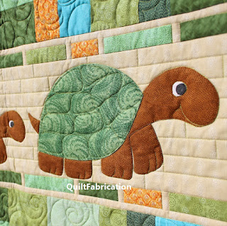 Turtle-Applique-Kid-Child-Quilt