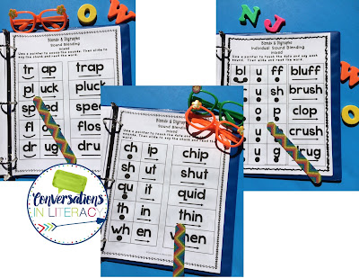 Blends and Digraphs RTI Intervention Binder