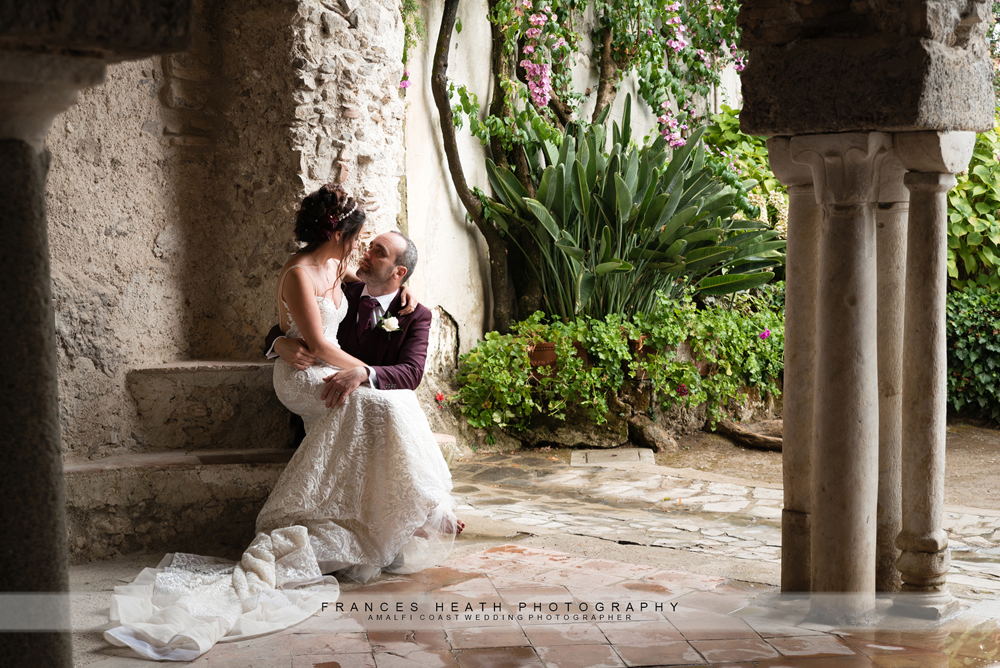 Villa wedding in Ravello