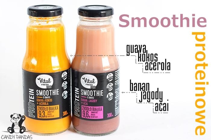 Smoothie białkowe – Vital Fresh (Biedronka)