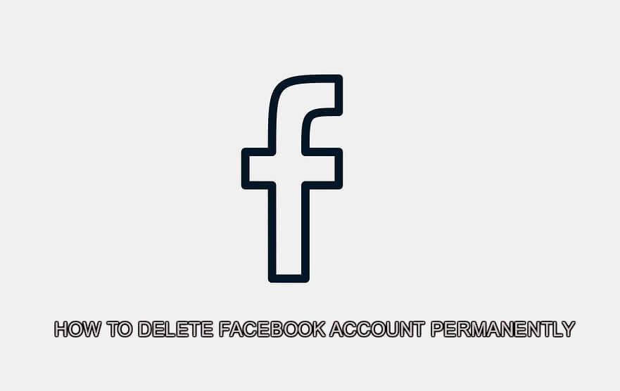 Cara delete akun FB permanen