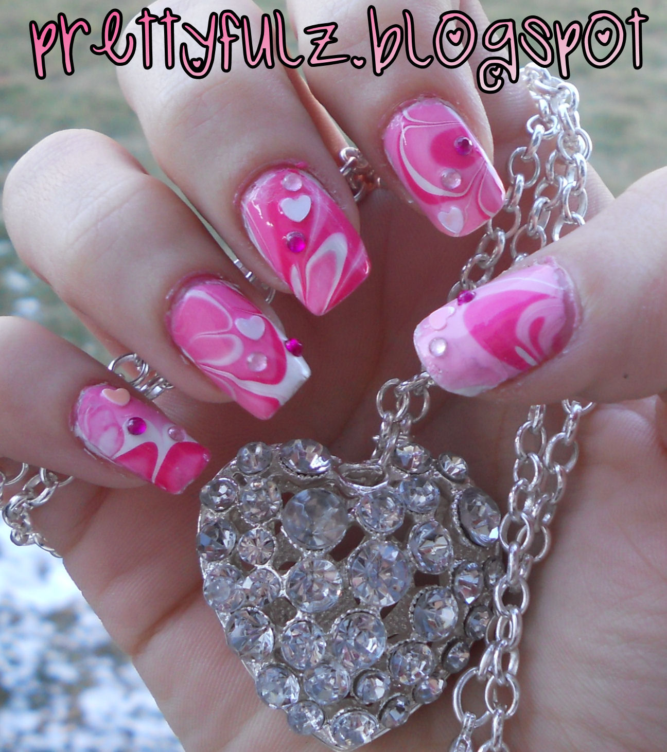 Prettyfulz Fall Nail Art Design 2011: Prettyfulz: VALENTINE'S DAY NAIL ART DESIGN
