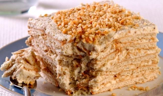 Torta Paulista Pavê de Paçoca