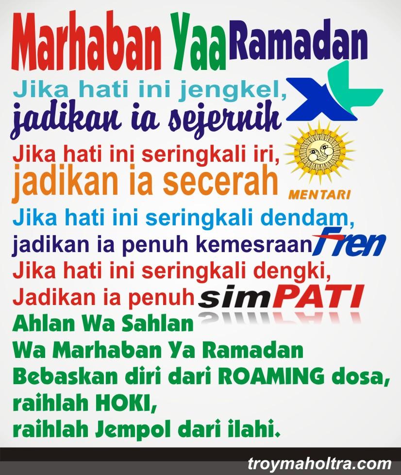 Meme Marhaban Ramadhan