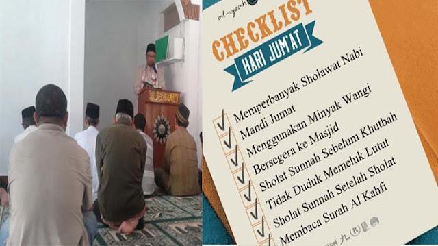 10 Amalan Sunnah di Hari Jumat Awal Bulan Rajab yang Memiliki Keutamaan Berlimpah Pahala