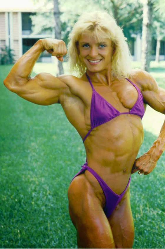 80's Female Muscle: Sue Price