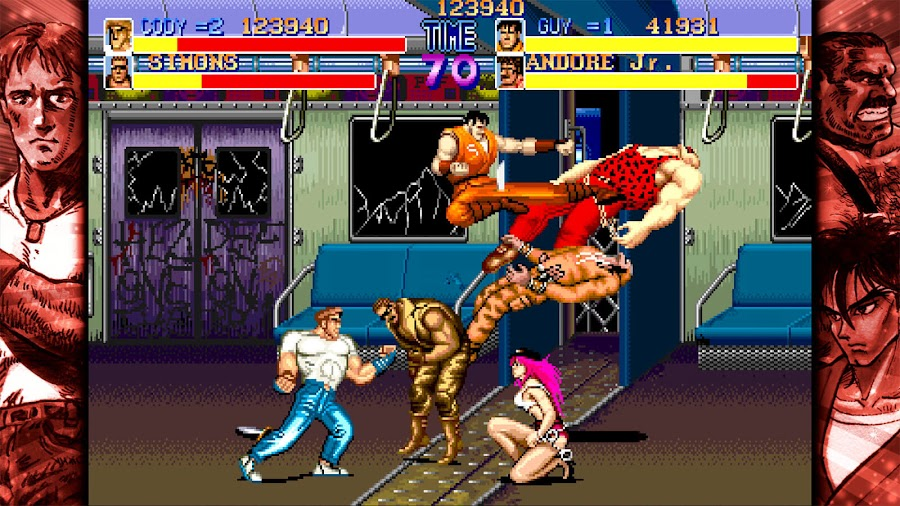capcom beat em up games final fight