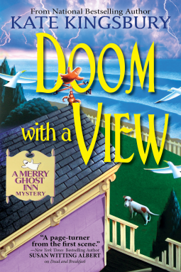 Bea's Book Nook, Review, Doom with a View, Kate Kingsbury