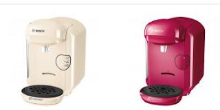 Cumpara de aici Espressor cafea Bosch Tassimo Vivy II roz crem