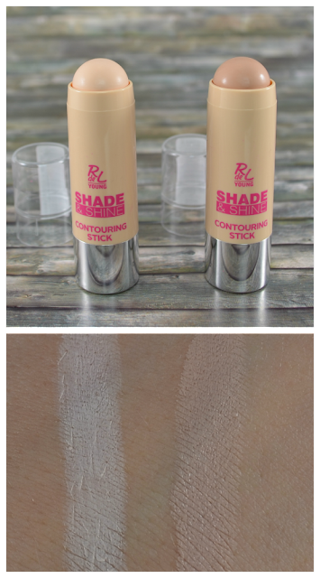 Rival de Loop Young shade & shine LE contouring sticks und Swatches