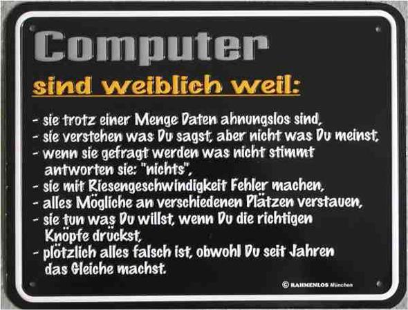 computer sprüche lustig