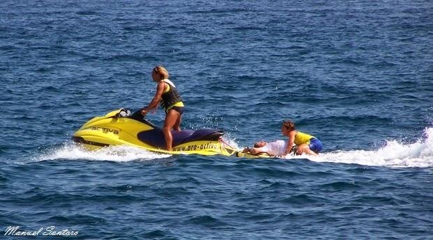 Lloret de Mar, soccorsi in mare