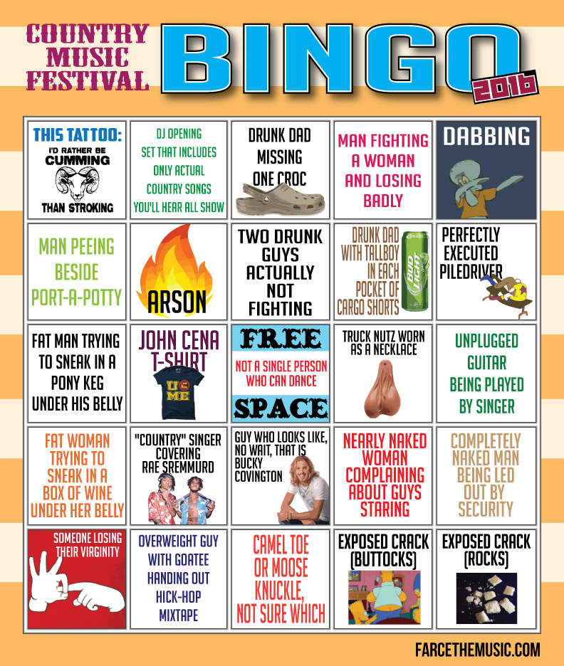 Country Bingo