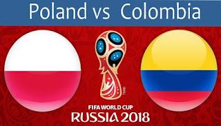 مشاهدة مباراة بولندا و كولومبيا في كأس العالم 2018 بتاريخ 24-06-2018