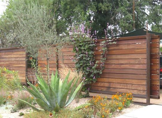 17 DIY Garden Fence Ideas to Keep Your Plants   Diy garden ...  Simple Modern Fences