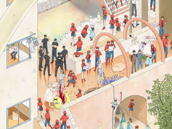 Ending theme song decided for the upcoming anime, Cells at Work