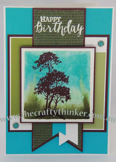 SU, Acrylic block stamping, Triple banner punch, Card making classes