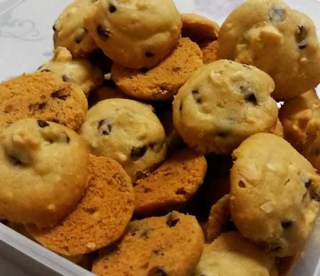 Resepi Biskut Almond Cocochips