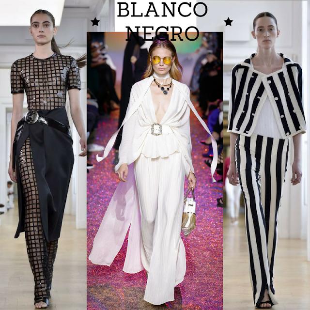 Informal o  vestido. Todo es elegante con blanco y negro