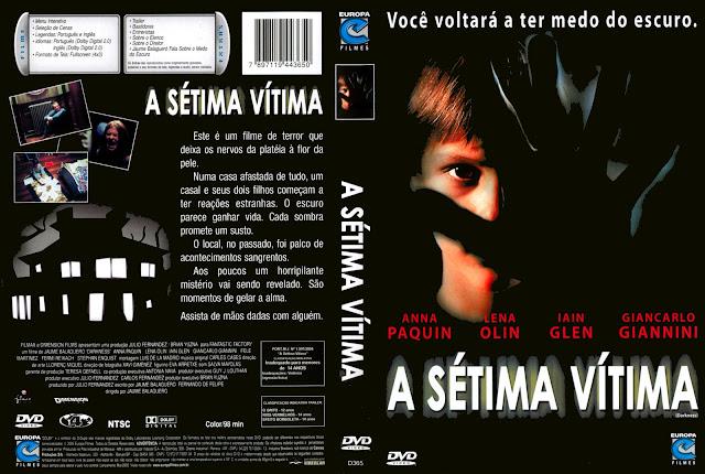 Capa DVD A Sétima Vítima
