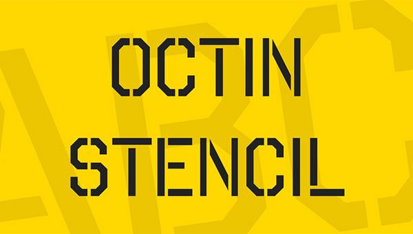 Free Octin Stencil