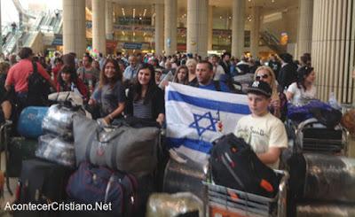 Retorno de judíos ucranianos a Israel