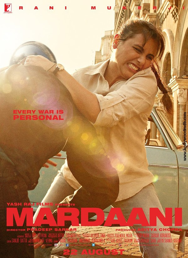 Mardaani (2014) Movie Poster No. 3