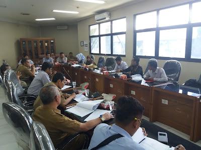 Soal PDAM, Komisi B DPRD Karawang & LBH KAHMI Lakukan Hearing