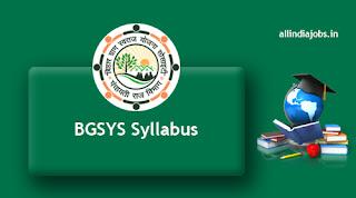 BGSYS Syllabus