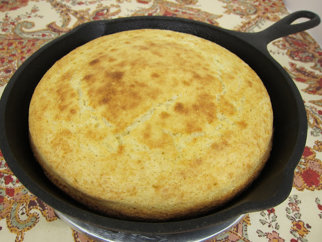 Southern Cornbread Recipe - family recipe passed down for generations. THE BEST! Great with chili and soups. We also use it in our Southern Cornbread Dressing at the holidays.