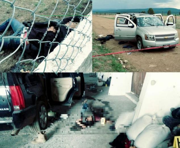 """Fue un 'ejercito' de cerca de 140 sicarios del """"Cártel de Sinaloa"""" se enfrentaron con la mitad de """"La Línea-Zetas"""" quiénes llegaron a apoyar al Cártel de Juarez"""