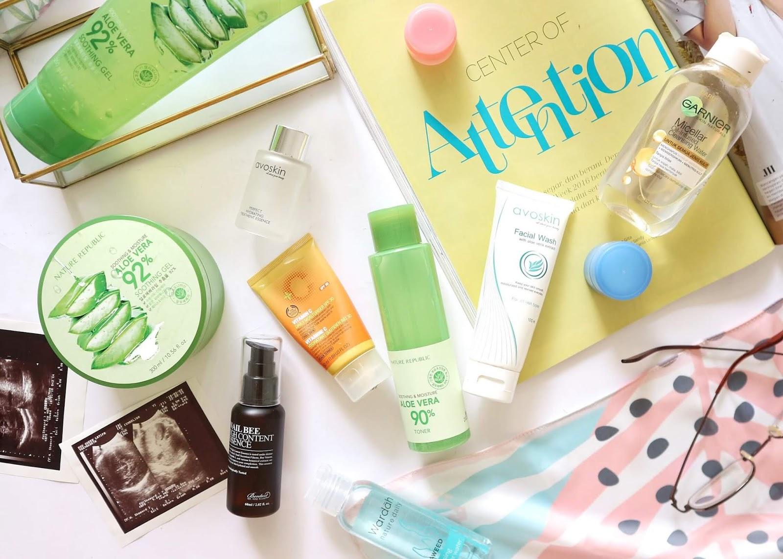 Rekomendasi produk skincare yang aman digunakan saat hamil dan menyusui