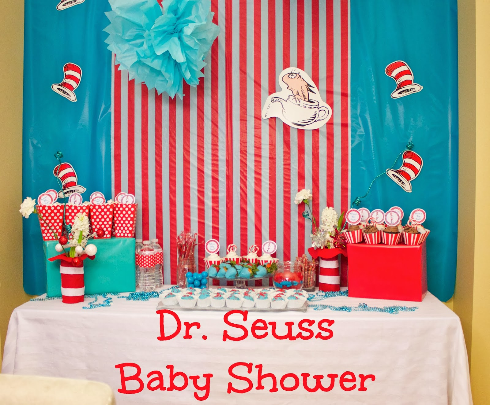 Baby Shower Ideas For Decorations Dr Seuss Theme - Elitflat