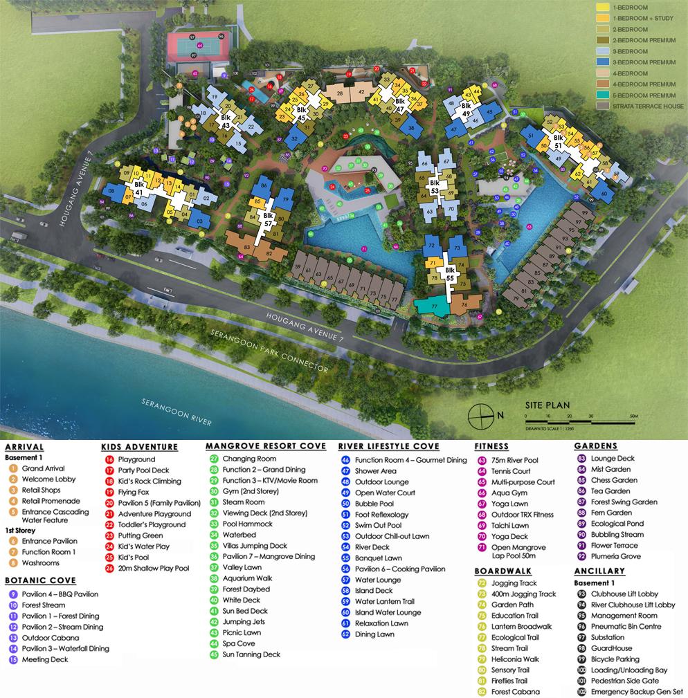 Riverfront Residences - Site Plan