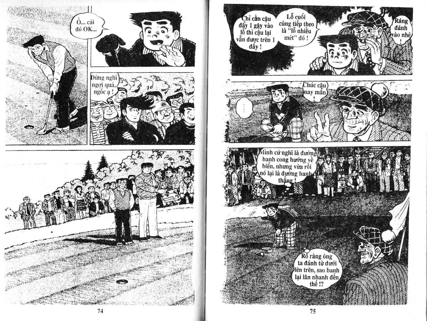 Ashita Tenki ni Naare chapter 52 trang 36