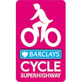 Cycle superhighway logo on lambethcyclists.org.uk