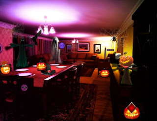 Play Top10NewGames - Halloween House Escape walkthrough