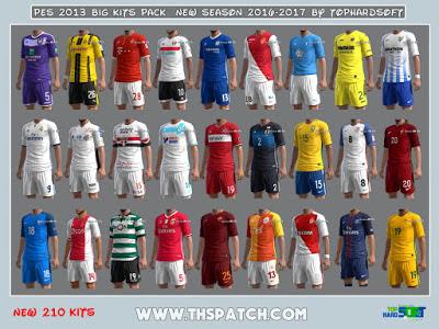 Update Pes 2013 Kits Pack New Season 2017