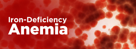 فقر الدم بعوز الحديد iron deficiency anemia