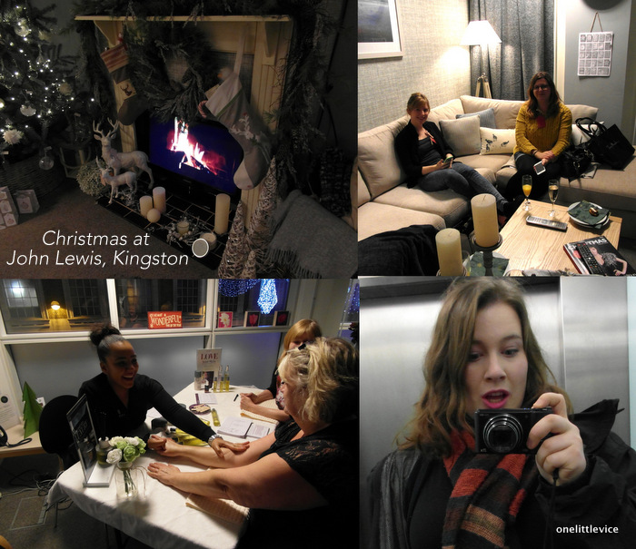 One Little Vice beauty blog: Christmas at John Lewis