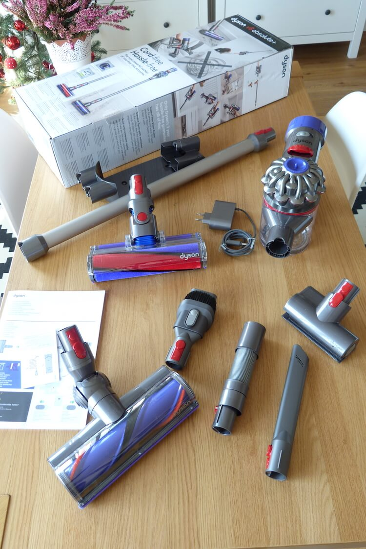 Review Dyson V8 Absolute + Componentes
