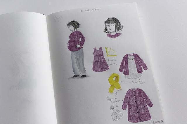Personajes, niños, ilustración infantil, procesos de trabajo, ilustración de niños, embarazada, dibujo de embarazada, diseño de personajes, niños, nenes, infantil,