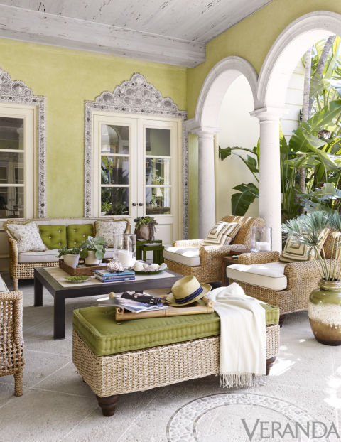 A Sparkling 1920s Palm Beach Villa The Glam Pad