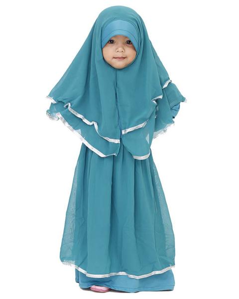 model baju jubah anak
