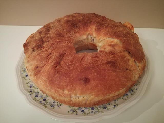 Cottura del tortano napoletano in forno