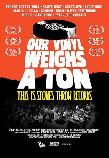 Frische Alben im Atomlabor | What´s hot end of May - Our Vinyl Weights a Ton ( Stones Throw Dokumentation 'THIS IS STONES THROW RECORDS' und Soundtrack ) und Illy x 50 Cent Album Release
