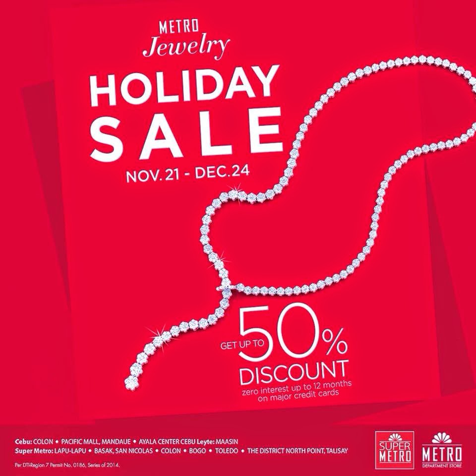 jewelry sale manila shopper metro jewelry sale nov dec 2014 5554