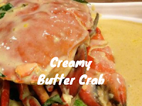 Resepi Creamy Butter Crab