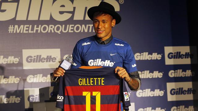 Gillette ficha a Neymar para el mercado Latinoamericano
